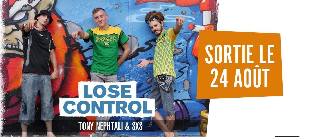 Tony Nephtali & SxS : New Single «Lose control»